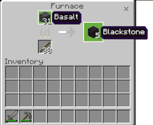 Read more about the article Convert Basalt into Blackstone in MCPE
